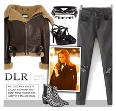 """""""DLRBOUTIQUE.COM"""" by beenabloss ❤ liked on Polyvore featuring Balenciaga and Yves Saint Laurent"""