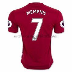 Manchester United Fotballdrakter 2016-17 Memphis 7 Hjemmedrakt
