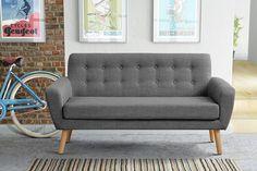 Sexton 2 Seater Sofa, Smoke