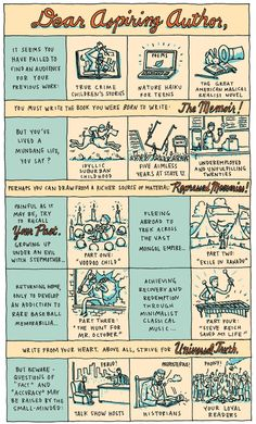 The Memoir - A Comic for Writers