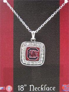 University of South Carolina Gamecocks Necklace