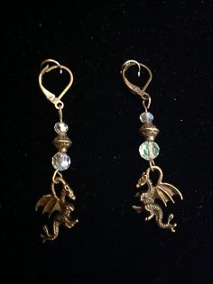 Dragon tears earrings.find this@ www.the-violet-rose.com