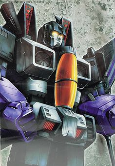 Transformers Masterpiece Skywarp box art via seibertron
