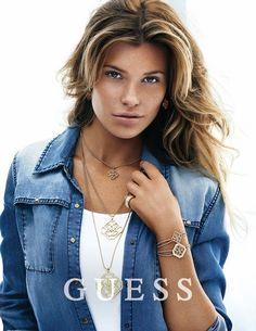 Fantasy Fashion Design: Samantha Hoopes vuelve a ser el rostro de Guess en su nueva campaña de primavera 2015