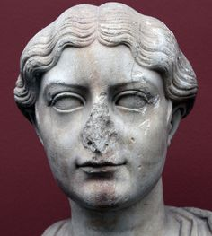 Antonia the Younger (detail) by Roger B. Ulrich, via Flickr