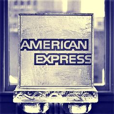 American Express ice sculpture