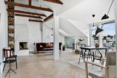 Attic apartment | floorplan
