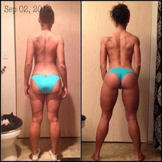 There is hope! Its called hard work ladies!!! So motivating....Peace out cellulite!