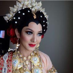 Beautiful makeup wedding #bajubodo