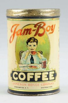 Jam Boy Coffee Tin. : Lot 1114