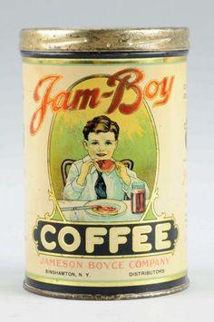 Jam Boy Coffee Tin. : Lot 1114