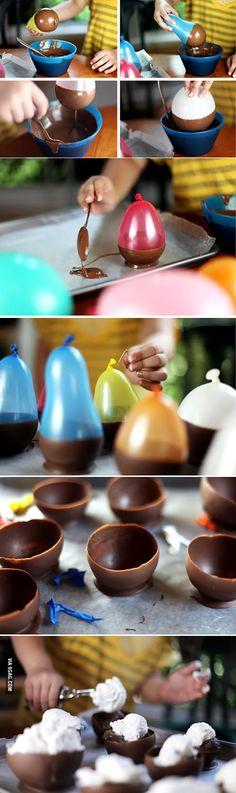 Como fazer copinhos e forminhas de chocolate? - Danielle Noce