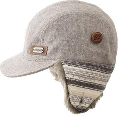 """Women's Fair Isle Ear Flap Hat lets you put the flaps down on winter, with a fuzzy faux fur lining that that prevents ears from turning into """"ear-sicles""""!"""