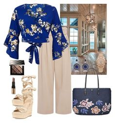 """""""Saturday Afternoon 🌼"""" by parnett ❤ liked on Polyvore featuring Kendall + Kylie, A.L.C., River Island, Tory Burch, Burberry and Bobbi Brown Cosmetics"""