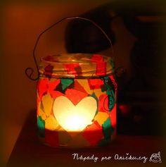 Lampiónek pro nejmenší děti - Lantern for little childrens DIY