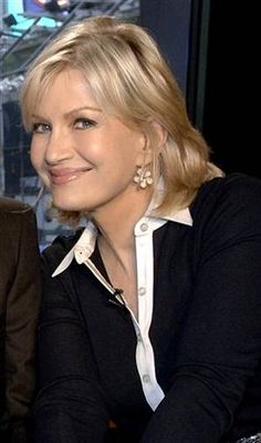 If I was stranded on a desert island with one woman, I would want that woman to be Diane Sawyer. Hands down, without hesitation! Love her!