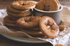 Bagel, Doughnut, Bread, Cookies, Desserts, Food, Crack Crackers, Tailgate Desserts, Deserts
