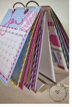 DI CORSO IN CORSO: Un calendario Scrap per il 2014