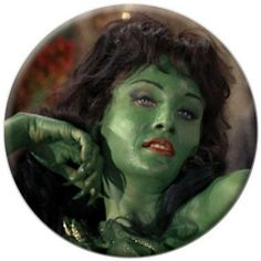 Star Trek Green Lady Button 81403 @ niftywarehouse.com #NiftyWarehouse #StarTrek #Trekkie #Geek #Nerd #Products