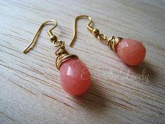Georgia Peach Earrings
