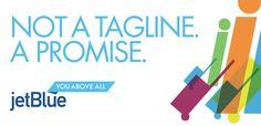 "Jetblue Airways: ""Tag"" Print Ad  by Mullen"