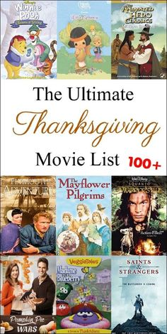 Ultimate Thanksgiving Movie List (over 100 movies! you're guide t… Ultimate Thanksgiving Movie List (over 100 movies! you're guide to finding the right movies for your family this holiday season. Thanksgiving Movies For Kids, Thanksgiving Stories, Thanksgiving Prayer, Thanksgiving Traditions, Thanksgiving Crafts, Thanksgiving Appetizers, Thanksgiving Outfit, Thanksgiving Decorations, Kid Movies