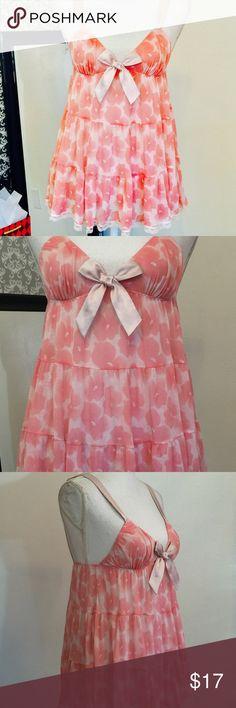 Victoria's Secret floral print lingerie Size S Victoria's Secret Intimates & Sleepwear