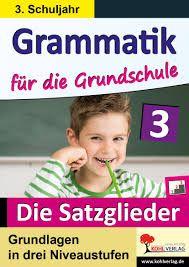 Bildergebnis für die satzglieder Grammar, Elementary Schools, Baseball Cards, Books, Sports, Products, Band, Running Away, Fourth Grade