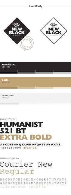 The New Black on Branding Served