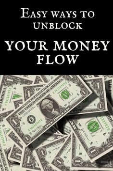 Easy ways to unblock your money flow – Siobhan Johnson Money Spells That Work, Money Magic, Witchcraft For Beginners, Attract Money, Manifesting Money, Law Of Attraction Tips, Law Of Attraction Affirmations, Money Affirmations, How To Manifest