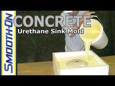 Concrete Casting: How to Make a Concrete Sink Mold