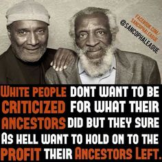 Some minds are still chained up. Many different cultures were enslaved , what percent were slave owners? We're blacks slave owners? Did blacks capture their own people and sell them? ALL CULTURES HAVE DIRTY HANDS!! Even today. Let's move forward together. Pinterest : @uniquenaja
