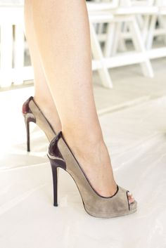 #OLDRLIVE Amazing pumps from NY Fashion Week #nyfw