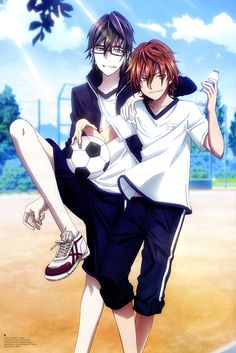 Yata Misaki and Saruhiko Fushimi at middle school. K Project Kk Project, K Project Anime, Manga Art, Manga Anime, Anime Art, Hot Anime Guys, Anime Love, Hot Guys, Missing Kings