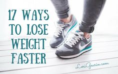 Here are 17 quick and easy ways to lose weight faster. These are great to know when you're trying to lose weight quickly for an event.