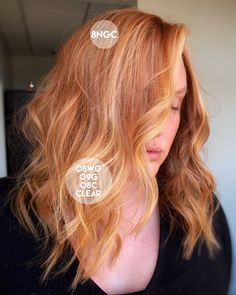 This Redken ShadesEQ formula is a must-have for spring! Red Hair Formulas, Redken Color Formulas, Redken Hair Color, Joico Color, Copper Blonde Hair, Beauty Hacks Nails, Beauty Tips, Redken Hair Products, Red Ombre Hair