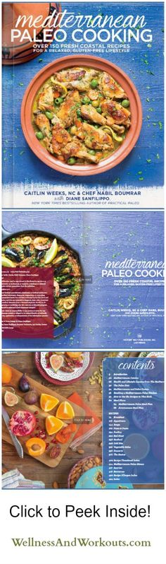 Mediterranean Paleo Cooking is one of the most gorgeous healthy cookbooks books out there. And the authors were thoughtful enough to go the extra mile and provide special modifications for for AIP (Autoimmune Paleo), Egg Free, Nut Free, SCD/GAPS, and Lower carb. How great is that?! Click now to see a preview!