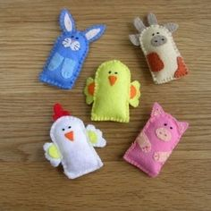 Felt animals by rosetta