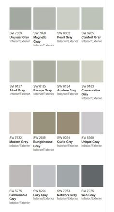 Shades Of Gray Paint more than} 50 shades of gray | 50, home and 50 shades