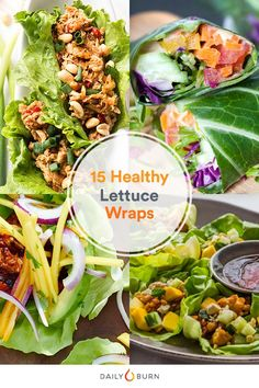 15 Healthy Lettuce Wraps for Low-Carb Lunches