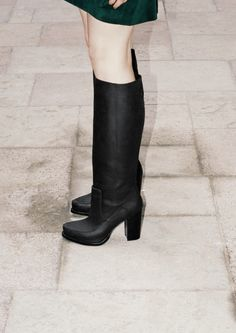 Leather black boots from & Other Stories