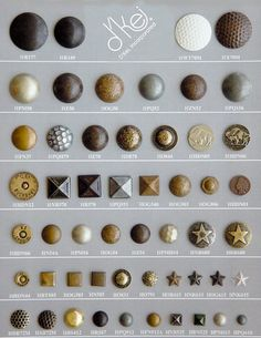 Inspiration - not your average nailheads!!