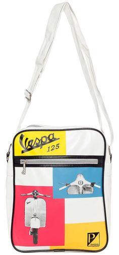 VESPA 125 SHOULDER BAG $45.00 #vespa #accessories #shoulderbag