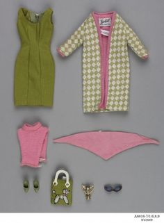 barbie clothes set - this was my favorite Barbie outfit