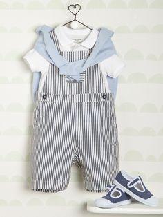 Bébé-Bébé garçon-Les Looks Printemps-Eté-Gentleman du style