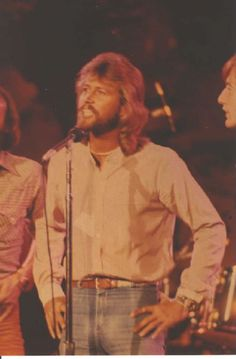 Barry Gibb..... met him later in life, but this will always be my  Barry!!