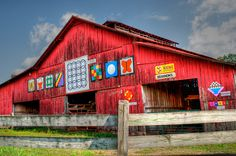 Quilt Barn, Tennessee.                                                                                                                                                                                 More