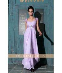 Purple long elegant evening dress/party dress