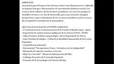 """03.05.17 Blog """"La Caracola"""" http://aprocean.blogspot.com.es/"""