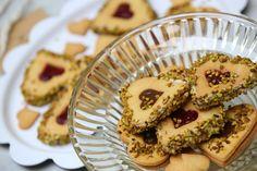Heart Cookies al Pistacchio